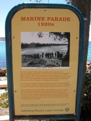 Marine Parade Marker image. Click for full size.