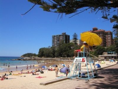 Manly Beach image. Click for full size.