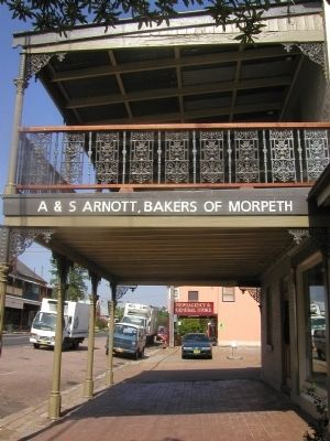 Historic Arnott Bakehouse image. Click for full size.