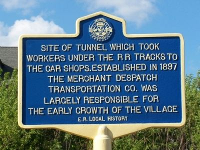 Site of Tunnel Marker image. Click for full size.