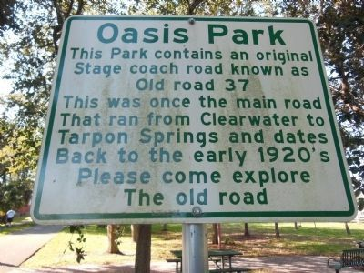 Oasis Park Marker image. Click for full size.