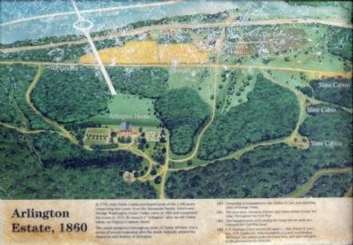 Arlington Estate, 1860 Marker image. Click for full size.