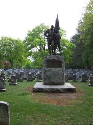 Mount Hope Cemetery Civil War Memorial image. Click for full size.