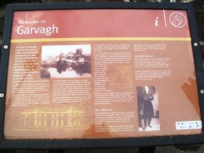 Welcome to Garvagh Marker image. Click for full size.