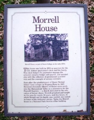 Morrell House Marker image. Click for full size.