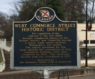 West Commerce Street Historic District image. Click for full size.