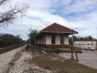 Greenville Train Depot image. Click for full size.