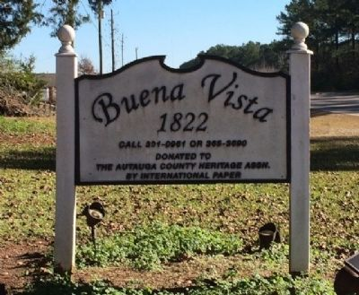 Buena Vista Entrance Sign image. Click for full size.