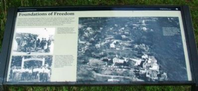 Foundations of Freedom Marker image. Click for full size.