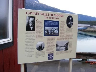 Captain William Moore Marker image. Click for full size.