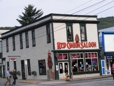 Red Onion Saloon in Skagway image. Click for full size.