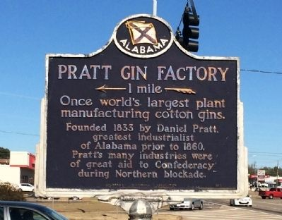 Pratt Gin Factory Marker image. Click for full size.