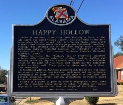 Happy Hollow Marker image. Click for full size.