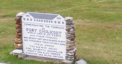 Founders of Port Chilkoot Marker image. Click for full size.