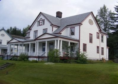 Residence on former Fort Seward grounds image. Click for full size.