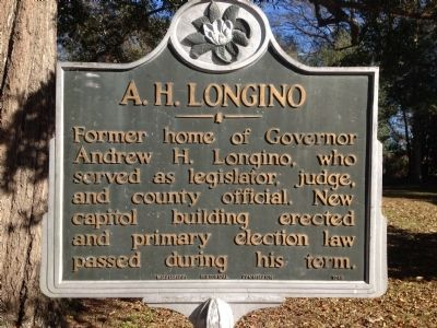 A. H. Longino Marker image. Click for full size.