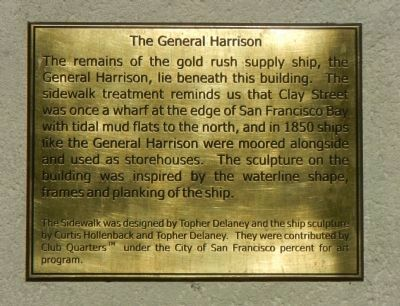 The General Harrison Marker image. Click for full size.