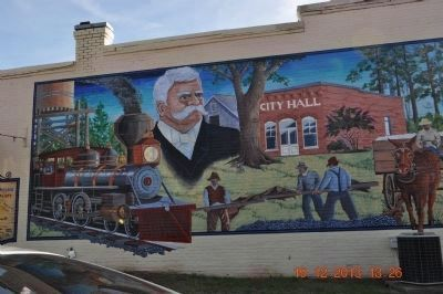 Chipley - Pine Mountain, Georgia Mural image. Click for full size.
