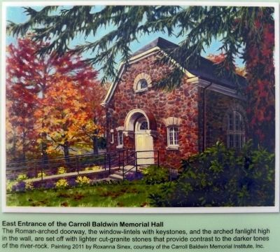 Carroll Baldwin Memorial Hall image. Click for full size.