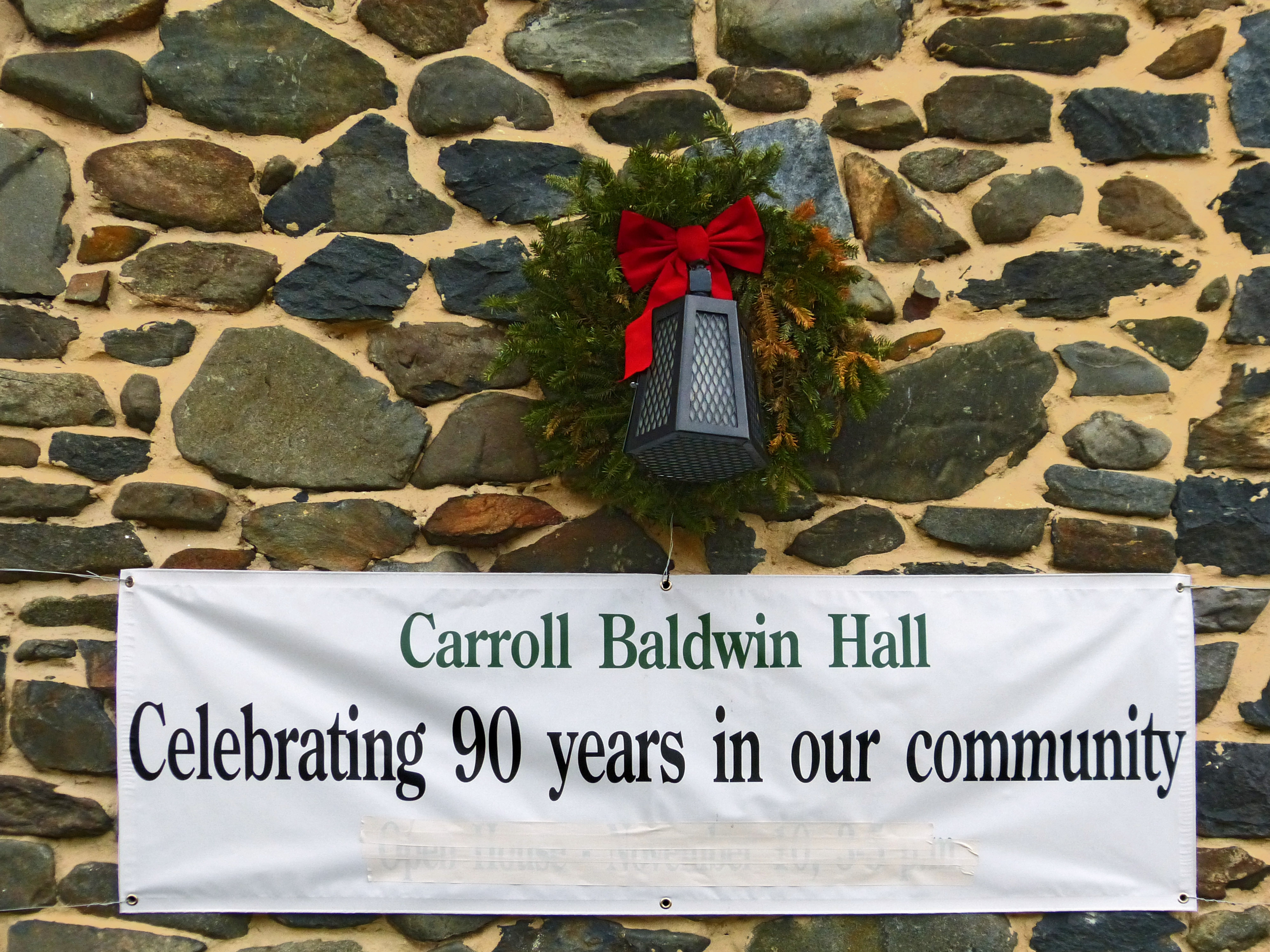 Carroll Baldwin Hall<br>Celebrating 90 years in our community
