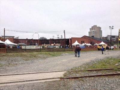 Esquimalt and Nanaimo Railway Roundhouse image. Click for full size.