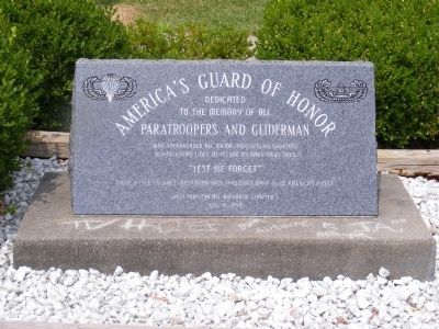 America's Guard of Honor Marker image. Click for full size.