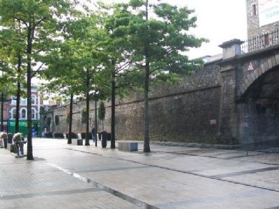 City Wall from Magazine Gate image. Click for full size.