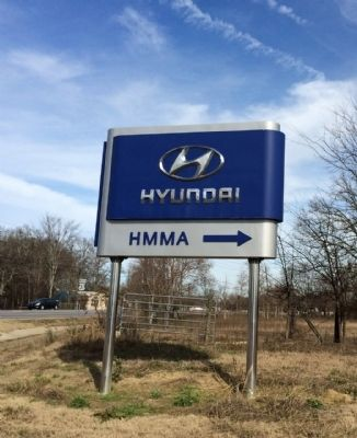 HMMA (Hyundai Motor Manufacturing Alabama) image. Click for full size.