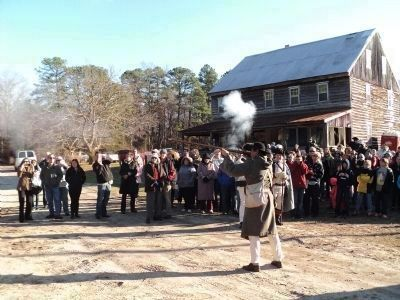 Patriot Reenactors at Cedar Bridge Tavern image. Click for full size.
