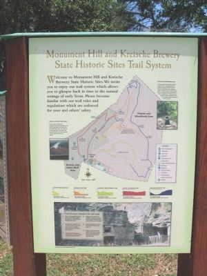 Monument Hill and Kreische Brewery State Historic Trail System image. Click for full size.