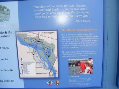 Coon Rapids Dam Regional Park Marker image. Click for full size.