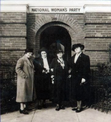 Members of the National Woman's Party image. Click for full size.