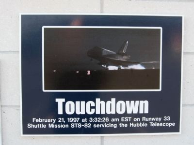 Touchdown image. Click for full size.