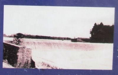 Goshen Dam in Earlier Years image. Click for full size.