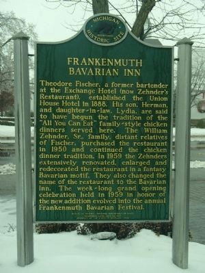 Frankenmuth Bavarian Inn Marker (Side B) image, Touch for more information