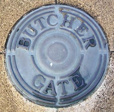 Butcher Gate Marker image. Click for full size.