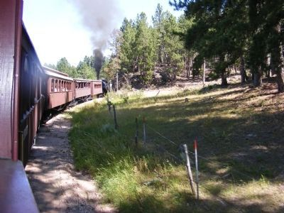 The Black Hills Central Railroad-Train ride through the hills image. Click for full size.