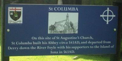 St Columba Marker image. Click for full size.