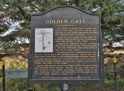 Golden Gate Marker image. Click for full size.