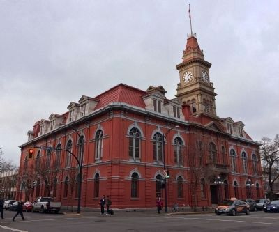 Victoria City Hall image. Click for full size.