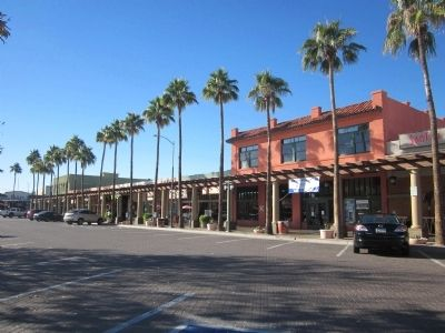 Chandler Historic Commercial District image. Click for full size.