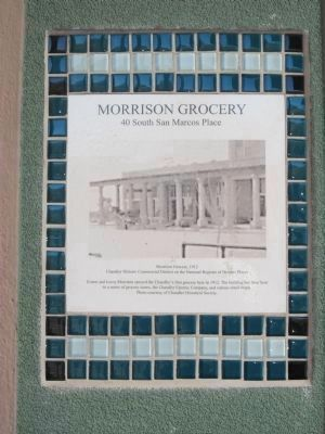 Morrison Grocery Marker image. Click for full size.