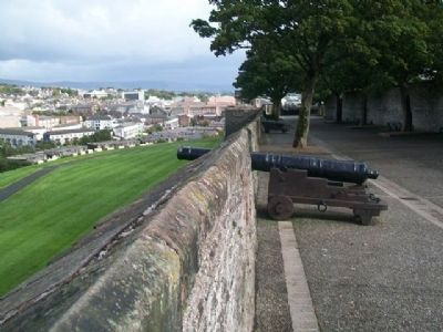 Cannon Along the West City Wall image. Click for full size.