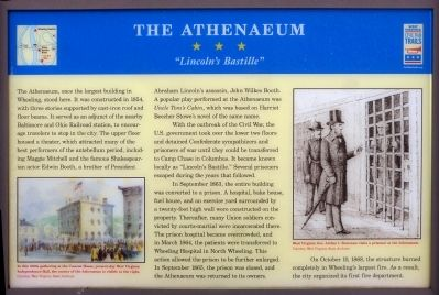 The Athenaeum Marker image. Click for full size.