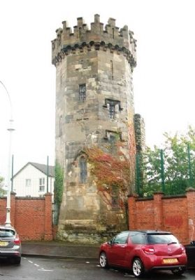 Former Bishop Street Jail Tower image. Click for full size.