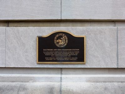 Baltimore and Ohio Passenger Station Marker image. Click for full size.