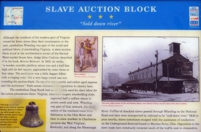 Slave Auction Block Marker image. Click for full size.