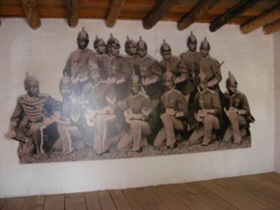 Fort Garland-Buffalo Soldiers image. Click for full size.
