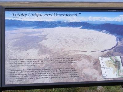 """Totally Unique and Unexpected""-park visitor Marker image. Click for full size."