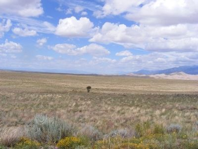 Sand Dunes and Sangre de Cristo Mountains image. Click for full size.